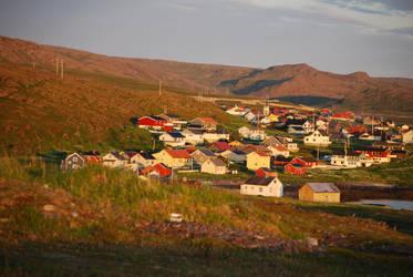 Small Norwegian Fishing Town by wiak