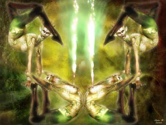 Astral acrobatics by SylvieB