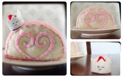 Strawberry Cake by dRea-L-m