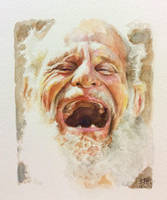 Grief or joy? (Watercolor) by chaseroflight