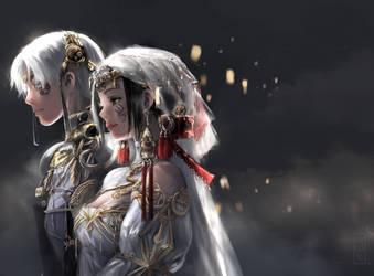 TG:Re - Wedding by poutanko