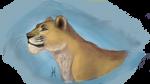 Lioness by albinoWolf58
