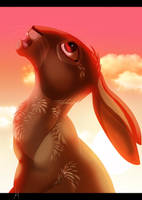 Watership Down- Fiver's Vision by albinoWolf58