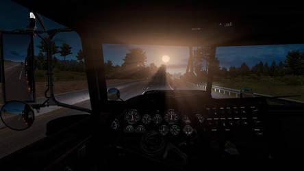 Northern California Sunrise by Firestarthecat1