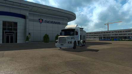 New(ish) Truck Smell - Scania T113H by Firestarthecat1