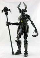 Bionicle MOC - Gvar Zhogvol, Lich Lord by Prhymus