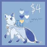 $4/400P [CLOSED] STARLIGHT CAT by Fallerium