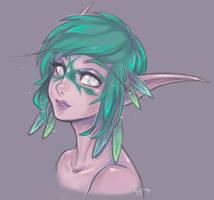 Lyralina Sketch by myre