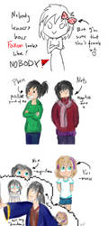 My Inner Voices xD by lessey-chan