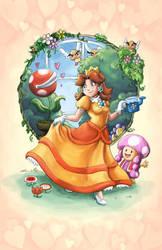 Princess Daisy by peegchica