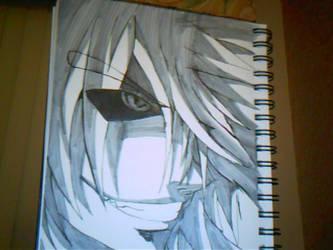 Ryujin evil smile by HellGab