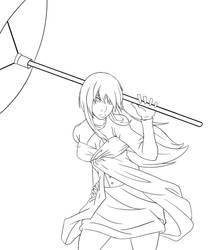 MikoYami Free-Sketch by HellGab