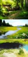 Background Paints by Kium