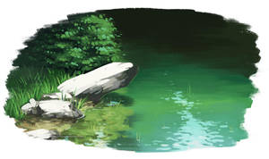Pondside by Kium