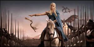 -. FF Studies - GoT - Khaleesi .- by Pitsh