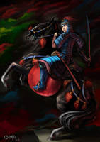Anu Queen of Mongols by HappyMorningStar