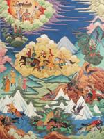 War between Men and Gods by HappyMorningStar