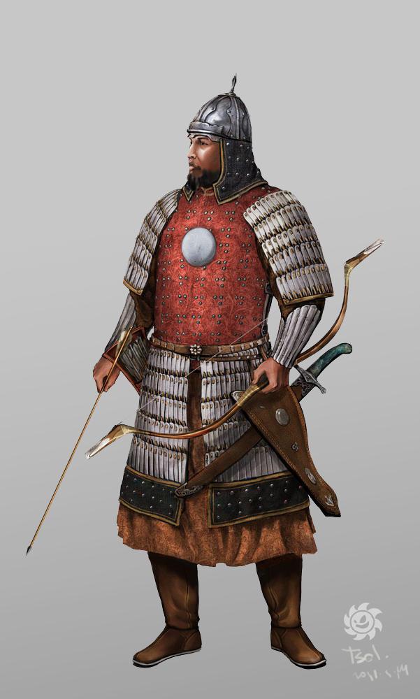 Mongol Elite Warrior by HappyMorningStar