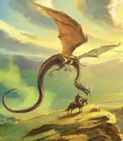 Dragon Stranger by HappyMorningStar