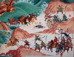 Mongol Invasion to Island Country-Detail by HappyMorningStar