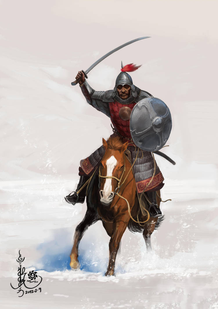 Mongol Cavalry - Golden Horde by HappyMorningStar