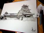 Utoyagura turret - Shogun totalwar's castle by HappyMorningStar