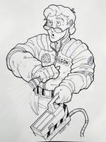 Egon commission by madmagnus