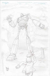Iron Giant Commission by madmagnus