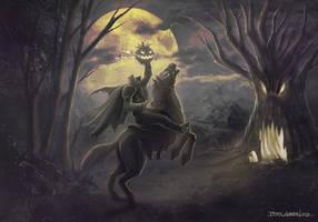 Happy Halloween Headless Horseman by madmagnus