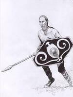 Gaulish Warrior by subedei