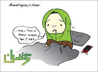 Homesick Ramadhan by DilaFAS