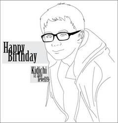 Happy Birthday Kidichi by DilaFAS
