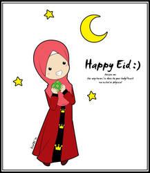 Happy Eid by DilaFAS