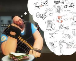 Heavy's Mind by EvGen1us