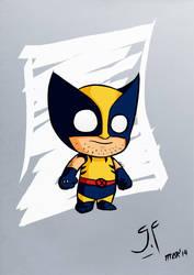 Little Wolverine by GeovannyFons