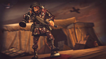 Rocket Commando by Hidden-Maverick