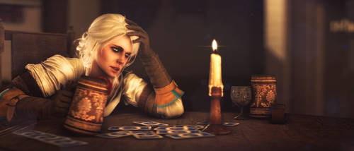 Lonely Witcher by Hidden-Maverick