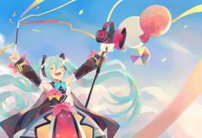 Happy Birthday Miku! by Kokacchan