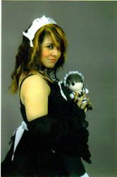 Maid and Chibeh Maid CosClips by harun0sakura