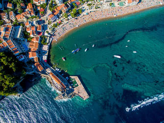 Petrovac Montenegro by Innadril