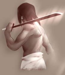 Samurai by MistletoesArt