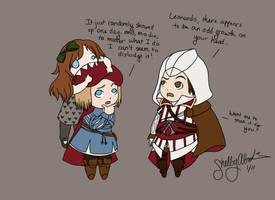 Assassin's Creed 2: Omnomnom by DiamondDropsOfMakai