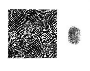 Fingerprint Design by DiamondDropsOfMakai