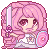 F2U Rose Quartz Icon by engare