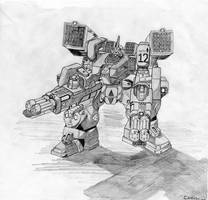 Support Mech Concept by CamCo
