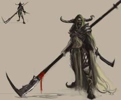 Undead Dragon Slayer by Erebus88