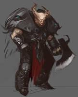 Demon Warrior by Erebus88