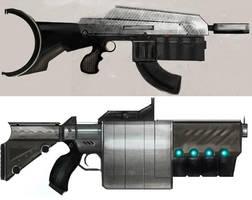 guns by Erebus88