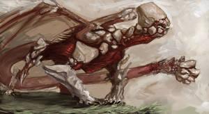 Earth Dragon by Erebus88