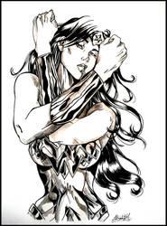 Wonder Woman by lizotori